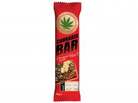 "БАТОНЧИК-МЮСЛІ ""Cannabis Bar""  з горіхами  та насін.канабісу"
