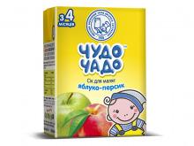 ДХ ЧУДО-ЧАДО сік яблучно-персиковий 200г