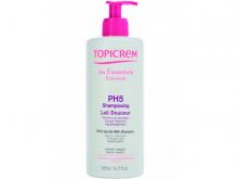 ТОПІКРЕМ шампунь-молочко із екстр. бавовни д/всіх типів волосся pH5 500мл