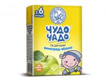 ДХ ЧУДО-ЧАДО сік яблучно-виноградний 200г