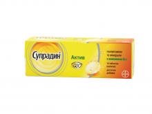 СУПРАДИН АКТИВ табл. шип. №10