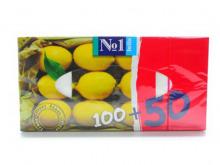 БЕЛЛА серветки папер. універс. лимон 100шт+50шт №1