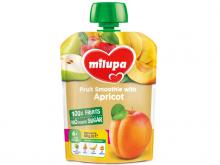 ДХ Milupa пюре яблуко, груша, банан і абрикос від 6 міс. 80г