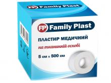 ЛЕЙКОПЛ. ФЕМЕЛІ ПЛАСТ 5см*5м ткан. осн.