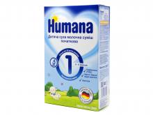 ДХ ХУМАНА 1 суміш молоч. сух. д/дітей від 0 до 6міс. 300г