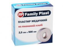 ЛЕЙКОПЛ. ФЕМЕЛІ ПЛАСТ 2,5см*5м ткан. осн.