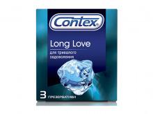 ПРЕЗЕРВАТИВИ Контекс Long Love із анестетиком №3