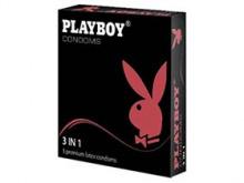 ПРЕЗЕРВАТИВИ Playboy 3 в1 №3