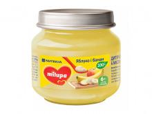 ДХ Milupa пюре Яблуко і Банан від 6 міс. 100г