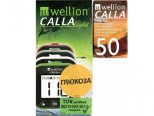 ВЕЛЛІОН Calla Light набір д/визнач. глюкози у крові + тест-полоски №50
