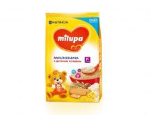 ДХ Milupa каша молоч. мультизлак. з печивом 210г