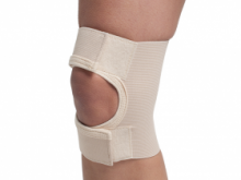 БАНДАЖ колінного суглоба із відкр. чашеч. р.4 (3002) сірий