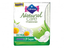 ПРОКЛАДКИ гіг. Libresse Natural Care Ultra Super №9