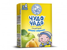 ДХ ЧУДО-ЧАДО сік яблучно-абрикосовий 200г