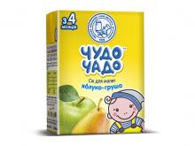ДХ ЧУДО-ЧАДО сік яблучно-грушевий 200г