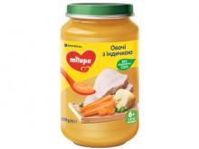ДХ Milupa пюре овочі з індичкою 200г