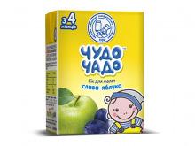 ДХ ЧУДО-ЧАДО сік сливово-яблучний 200г