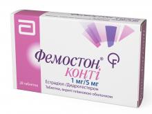 ФЕМОСТОН КОНТІ табл. 1мг/5мг №28