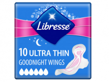 ПРОКЛАДКИ гіг. Libresse Ultra Goodnight Soft №10