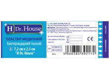 ЛЕЙКОПЛ.H Dr.House 7,2х2,5 бакт.ткан.оcн.№1
