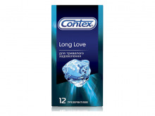 ПРЕЗЕРВАТИВИ Контекс Long Love із анестетиком №12