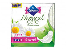 ПРОКЛАДКИ гіг. Libresse Natural Care Ultra Normal №10