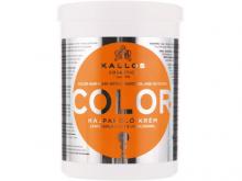 Каллос Color маска для фарбованого волосся з лляною олією та УФ фільтром 1л