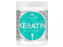 Каллос Keratin маска д/відновл. волосся з кератином та протеїнами молока 1л