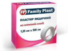 ЛЕЙКОПЛ. ФЕМЕЛІ ПЛАСТ 1,25см*5м н/ткан. осн