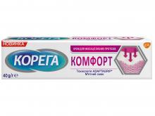 КОРЕГА КОМФОРТ  крем д/фіксув. зубн. протезів 40мл