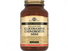 СОЛГАР Глюкозмін з хондроїтином комплекс табл №60