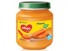 ДХ Milupa пюре морква 125г