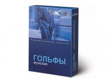 ГОЛЬФИ чол. 2 компр. лікувальні р.3 чорні б/миска