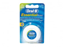 ОРАЛ B зуб. нитка Essential Floss воск. 50м