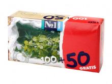 БЕЛЛА серветки папер. універс. м'ята 100шт+50шт №1