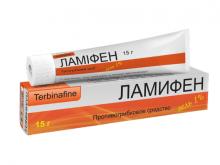 ЛАМІФЕН гель 1% туба 15г
