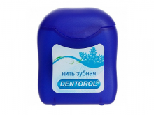 ДЕНТОРОЛ зубна нитка 65м